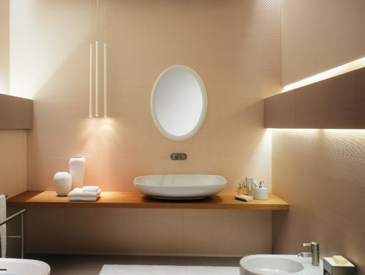 Plastered Bathroom