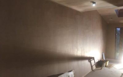 Extension Plastering Job in Leeds